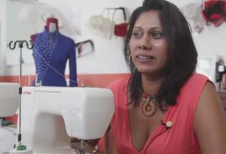 Corine Puylaurent, styliste