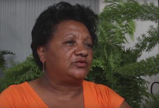 Entrevue avec Lisette CARTAYE originaire du camp du gol