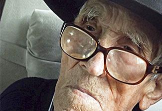 Monsieur FONTAINE âgé de 101 ans